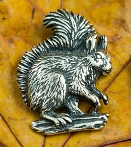 SQUIRREL, STERLING SILVER PENDANT - MYSTICA SILVER COLLECTION - PENDANTS{% if kategorie.adresa_nazvy[0] != zbozi.kategorie.nazev %} - JEWELLERY{% endif %}
