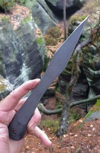 MUNINN THROWING KNIFE SANDED - 1 PIECE - SHARP BLADES - THROWING KNIVES{% if kategorie.adresa_nazvy[0] != zbozi.kategorie.nazev %} - WAFFEN{% endif %}