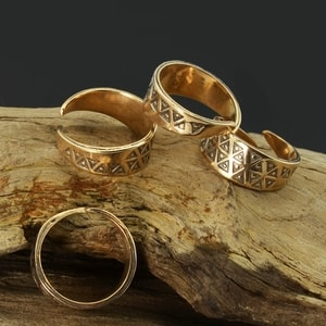 EINAR, BRONZE VIKING RING - BRONZE HISTORICAL JEWELS{% if kategorie.adresa_nazvy[0] != zbozi.kategorie.nazev %} - JEWELLERY{% endif %}
