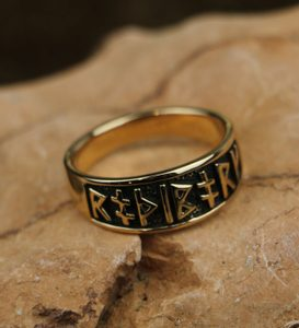 RUNIC RING FROM BRONZE - BRONZE HISTORICAL JEWELS{% if kategorie.adresa_nazvy[0] != zbozi.kategorie.nazev %} - JEWELLERY{% endif %}