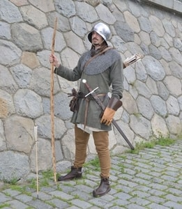 MEDIEVAL ARCHER - MERCENARY, COSTUME RENTAL - COSTUME RENTALS{% if kategorie.adresa_nazvy[0] != zbozi.kategorie.nazev %} - HISTORICAL COSTUME RENTAL - FILM PRODUCTION{% endif %}