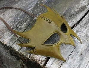 GREENMAN, LEATHER MASK - LEATHER MASKS{% if kategorie.adresa_nazvy[0] != zbozi.kategorie.nazev %} - LEATHER PRODUCTS{% endif %}