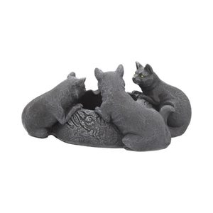 FELINE TRIO ASHTRAY - ANIMAL FIGURES{% if kategorie.adresa_nazvy[0] != zbozi.kategorie.nazev %} - PAGAN DECORATIONS{% endif %}
