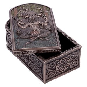 SECRETS OF CERNUNNOS, KEEPSAKE BOX - FIGURES, LAMPS, CUPS{% if kategorie.adresa_nazvy[0] != zbozi.kategorie.nazev %} - PAGAN DECORATIONS{% endif %}