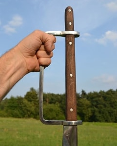 DOUBLE HANDED FALCHION, BATTLE OF NATIONS STYLE - FALCHIONS, SCOTLAND, OTHER SWORDS{% if kategorie.adresa_nazvy[0] != zbozi.kategorie.nazev %} - WEAPONS - SWORDS, AXES, KNIVES{% endif %}
