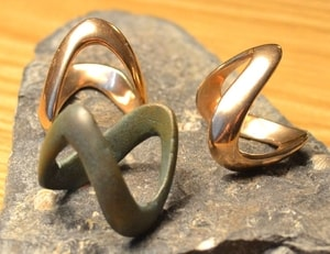CELTIC BRONZE RING, LA TENE, BOII TRIBES, CENTRAL EUROPE, EXACT REPLICA - BRONZE HISTORICAL JEWELS{% if kategorie.adresa_nazvy[0] != zbozi.kategorie.nazev %} - JEWELLERY{% endif %}