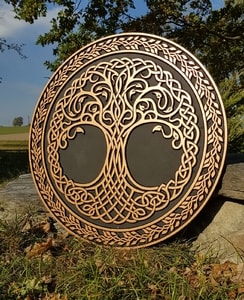 CELTIC TREE OF LIFE, WALL DECORATION - WOODEN STATUES, PLAQUES, BOXES{% if kategorie.adresa_nazvy[0] != zbozi.kategorie.nazev %} - WOOD{% endif %}