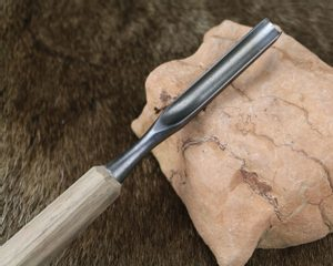 WOOD CHISEL, HAND FORGED, TYPE XXII - FORGED CARVING CHISELS{% if kategorie.adresa_nazvy[0] != zbozi.kategorie.nazev %} - LIVING HISTORY, CRAFTS{% endif %}
