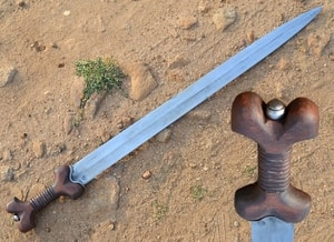 CELTIC FORGED SWORD, STAGE COMBAT - ANCIENT SWORDS - CELTIC, ROMAN{% if kategorie.adresa_nazvy[0] != zbozi.kategorie.nazev %} - WEAPONS - SWORDS, AXES, KNIVES{% endif %}