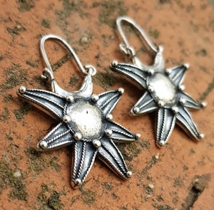 NOVGOROD, EARLY MEDIEVAL VIKING - SLAVIC EARRINGS, SILVER - EARRINGS - HISTORICAL JEWELRY{% if kategorie.adresa_nazvy[0] != zbozi.kategorie.nazev %} - JEWELLERY{% endif %}