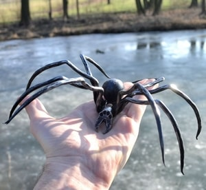 BLACK WIDOW, FORGED SPIDER FIGURE - FORGED PRODUCTS{% if kategorie.adresa_nazvy[0] != zbozi.kategorie.nazev %} - SMITHY WORKS{% endif %}