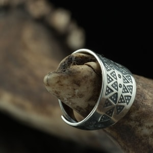 VIKING RING, STERLING SILVER, REPLICA - PENDANTS - HISTORICAL JEWELRY{% if kategorie.adresa_nazvy[0] != zbozi.kategorie.nazev %} - JEWELLERY{% endif %}