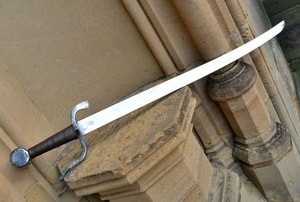 FALCHION WITH S TYPE GUARD - FALCHIONS, SCOTLAND, OTHER SWORDS{% if kategorie.adresa_nazvy[0] != zbozi.kategorie.nazev %} - WEAPONS - SWORDS, AXES, KNIVES{% endif %}