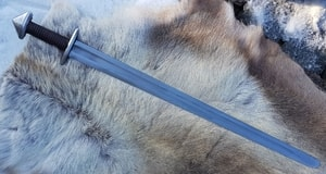 BORG - VIKING SWORD BROWN LEATHER - VIKING AND NORMAN SWORDS{% if kategorie.adresa_nazvy[0] != zbozi.kategorie.nazev %} - WEAPONS - SWORDS, AXES, KNIVES{% endif %}
