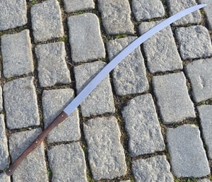 FALX, DACIAN SICKLE, TWO HANDED WEAPON - ANCIENT SWORDS - CELTIC, ROMAN{% if kategorie.adresa_nazvy[0] != zbozi.kategorie.nazev %} - WEAPONS - SWORDS, AXES, KNIVES{% endif %}
