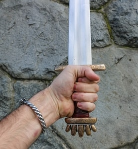 RUNAR, VIKING SWORD PETERSEN TYPE O, BRONZE, SILVER WIRE - VIKING AND NORMAN SWORDS{% if kategorie.adresa_nazvy[0] != zbozi.kategorie.nazev %} - WEAPONS - SWORDS, AXES, KNIVES{% endif %}