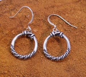 VIKING RINGS, STERLING SILVER EARRINGS - PENDANTS - HISTORICAL JEWELRY{% if kategorie.adresa_nazvy[0] != zbozi.kategorie.nazev %} - JEWELLERY{% endif %}