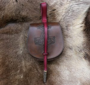 MJÖLLNIR, VIKING LEATHER BAG - BAGS, SPORRANS{% if kategorie.adresa_nazvy[0] != zbozi.kategorie.nazev %} - LEATHER PRODUCTS{% endif %}