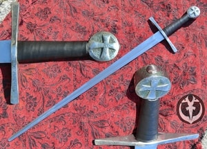 HARTWIG, SINGLE HANDED SWORD FOR COMBAT - MEDIEVAL SWORDS{% if kategorie.adresa_nazvy[0] != zbozi.kategorie.nazev %} - WEAPONS - SWORDS, AXES, KNIVES{% endif %}