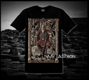 ODIN ON THE THRONE, VIKING T-SHIRT - PAGAN T-SHIRTS NAAV FASHION{% if kategorie.adresa_nazvy[0] != zbozi.kategorie.nazev %} - T-SHIRTS, BOOTS{% endif %}
