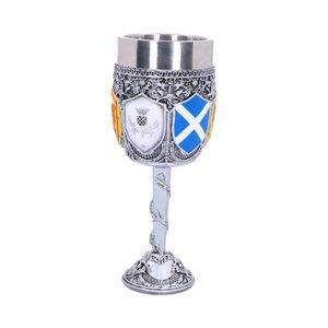 GOBLET OF THE BRAVE SCOTTISH SHIELD GLASS - MUGS, GOBLETS, SCARVES{% if kategorie.adresa_nazvy[0] != zbozi.kategorie.nazev %} - PAGAN DECORATIONS{% endif %}