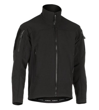 AUDAX SOFTSHELL JACKET CLAWGEAR BLACK