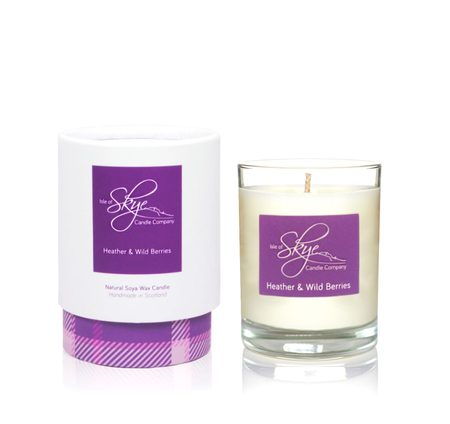 HEATHER AND WILD BERRIES VOTIVE CANDLE