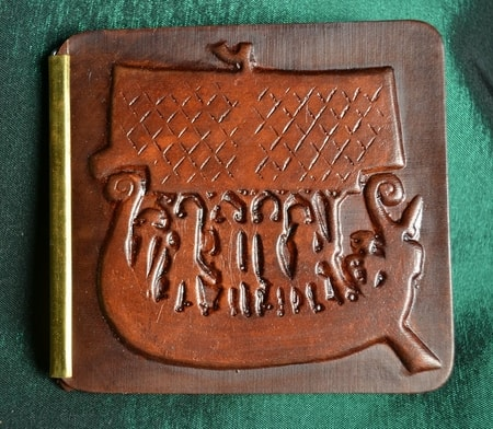 VIKING SHIP, leather wallet