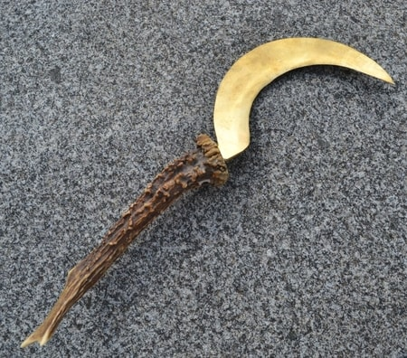 Boline - Druid Sickles Golden Sickle of the Druids