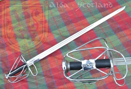 Scottish Backsword, 16th Century, exact battle ready replica