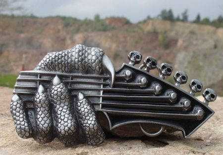 GUITAR HEAD OF A DAEMON