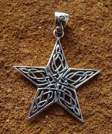 CELTIC KNOTWORK PENTACLE - DPT-963