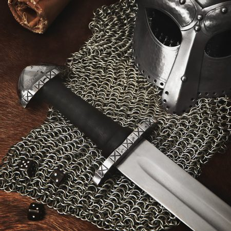 GRIM, VIKING SWORD