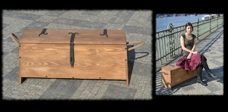 HISTORICAL CHEST, Camp Furniture For The Reenactors