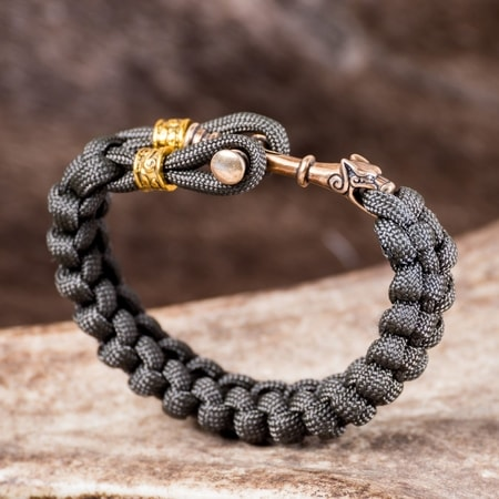 WOLF CROSS, paracord bracelet