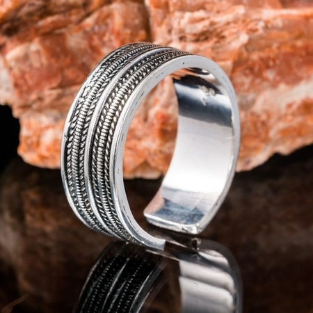 GEIR, Viking ring, silver