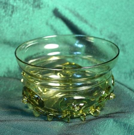 Glass Boar Drinking Vessel