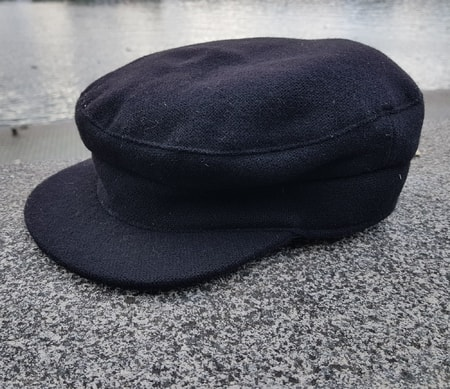 SAILOR IRISH CAP WOOL BLACK