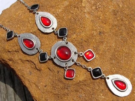 Countess Bathory, jewels, necklace, Slovakia