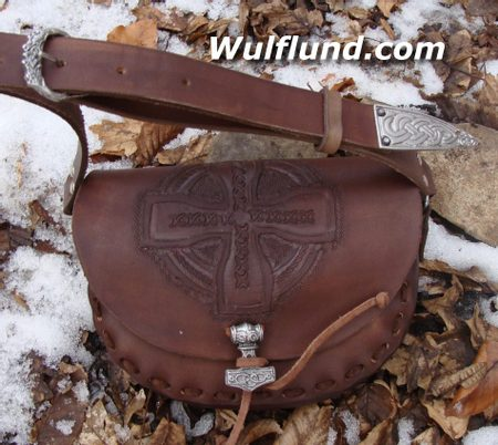 LEATHER BAG FOR WOMEN - Celtic Cross