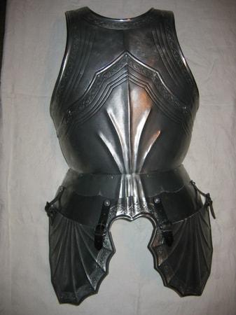 Custom Made Front Plate Curiass Gothic Armor Wulflund Com