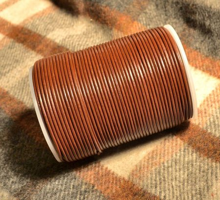 Brown Leather Cords for Jewelers