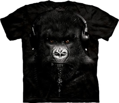 DJ Caesar, Gorilla, The Mountain, t-shirt