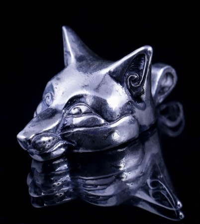 Celtic FOX | jewel, amulet, pendant, silver