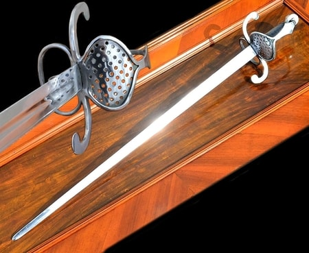 SWEDISH SWORD, RAPIER, THIRTY YEARS'S WAR, 17TH CENTURY