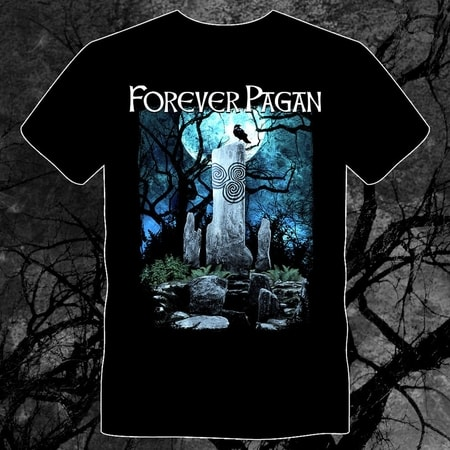 FOREVER PAGAN, men's T-shirt, colored, Naav