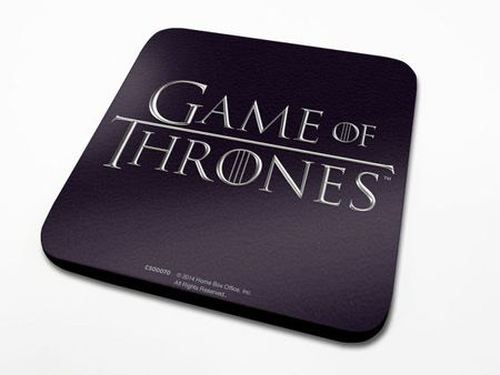Game of Thrones Coaster with Logo 6-Pack