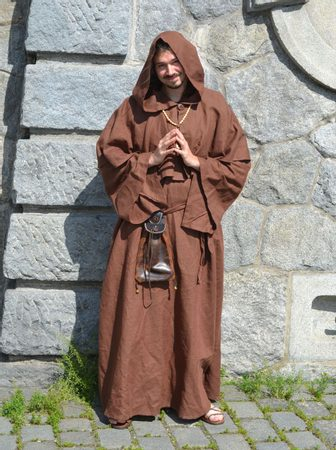 MEDIEVAL MONK, COSTUME RENTAL