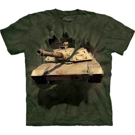 ABRAMS TANK, ARMY The Mountain T Shirt