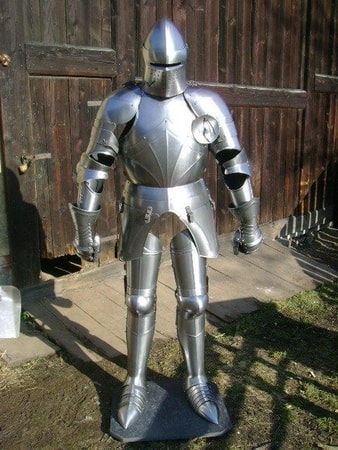 PLATE ARMOR, FULLY FUNCTIONAL, 1.5 MM
